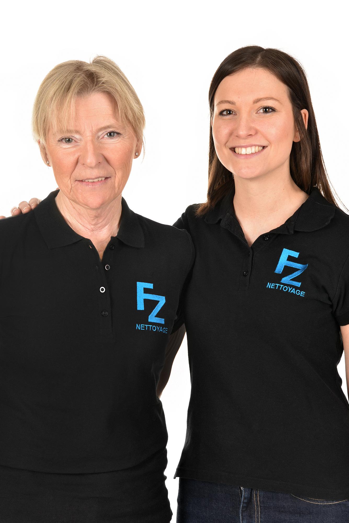 Liliane et Emmanuelle Zanchi